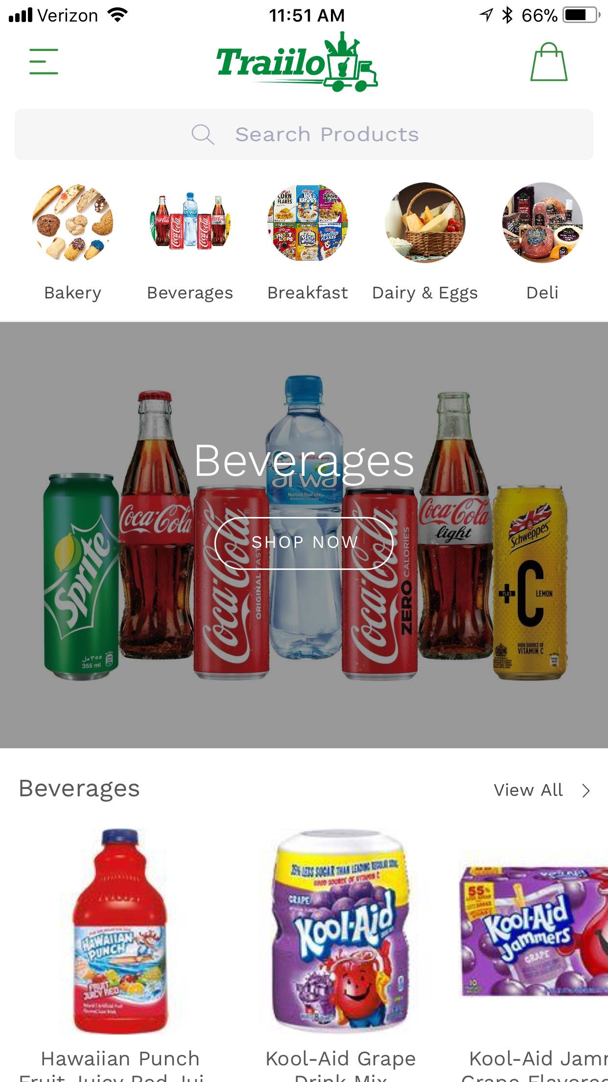 Screenshot of iPhone App